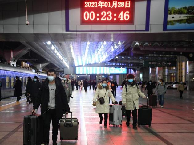 China's Spring Festival travel season kicks off
