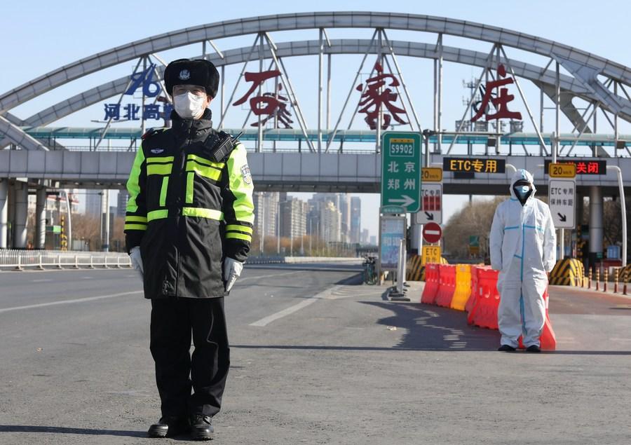 Public transport partly resumes in virus-ravaged Shijiazhuang