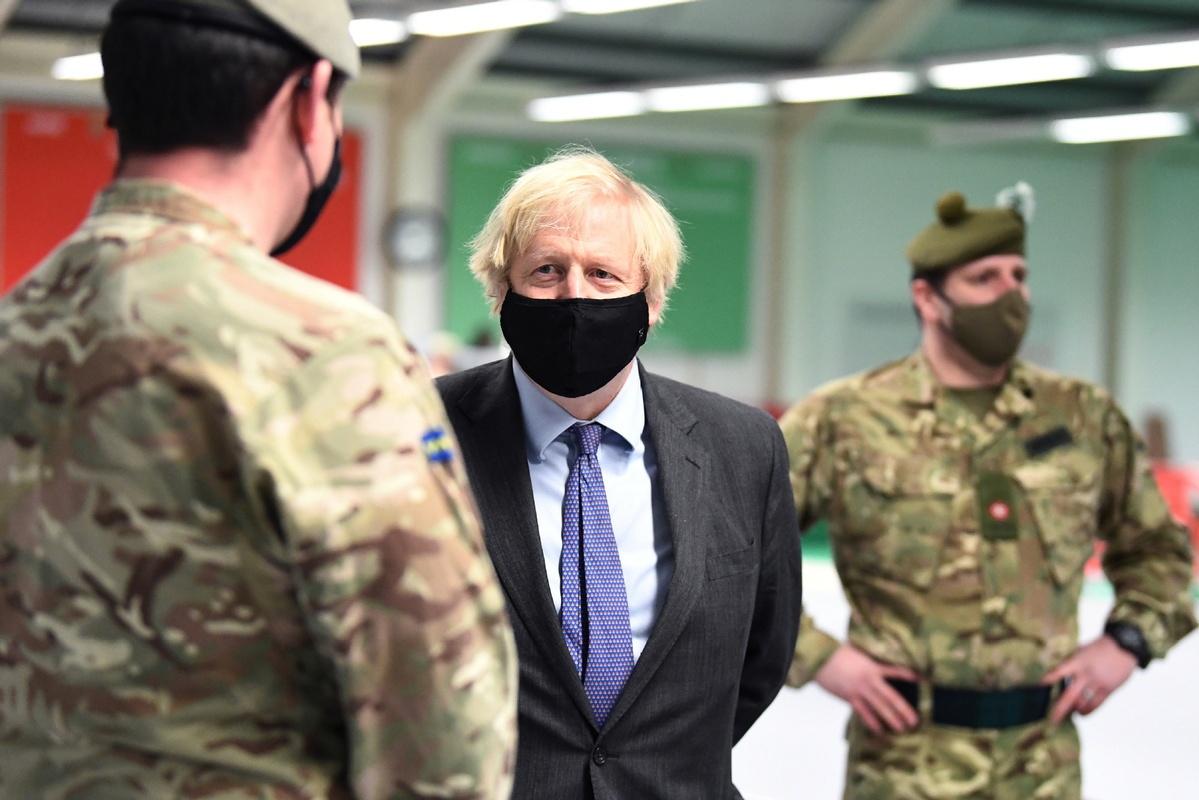 Johnson criticized for Scotland trip in lockdown