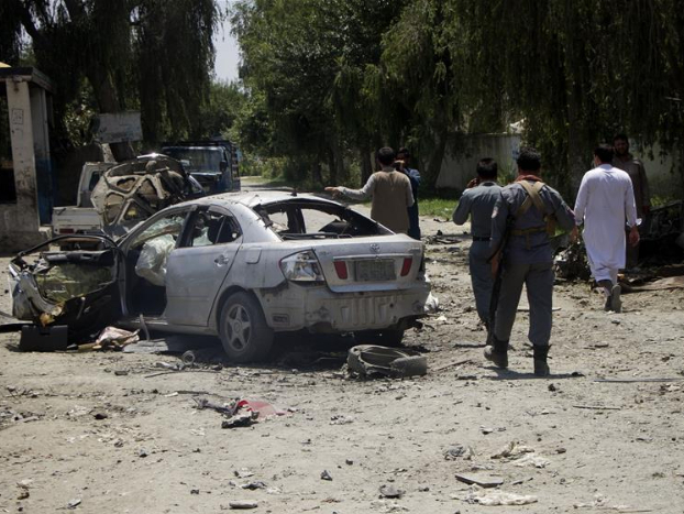 Car bomb kills 8 soldiers in E Afghanistan, Taliban claims responsibility