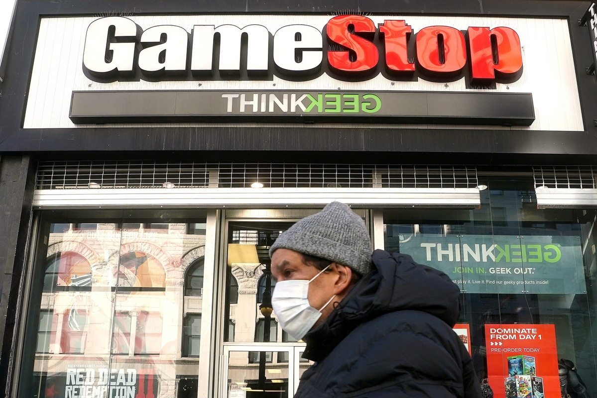 Games vendor gamed in stock market tizzy