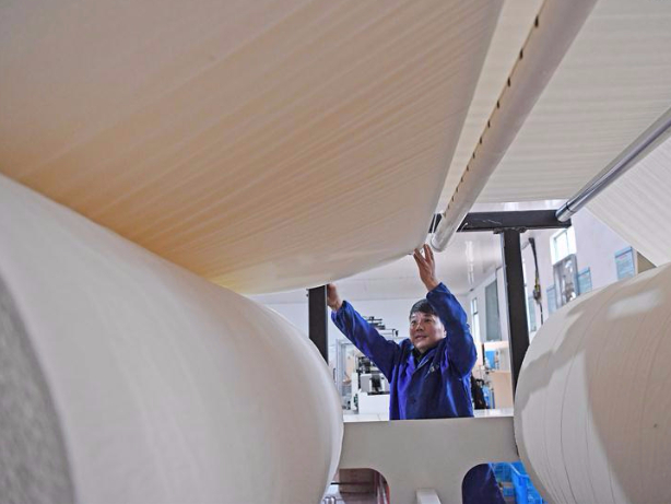 China's paper-making industry posts steady output growth in 2020