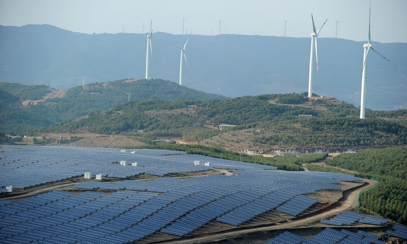 China's renewable energy generation maintains growth in 2020