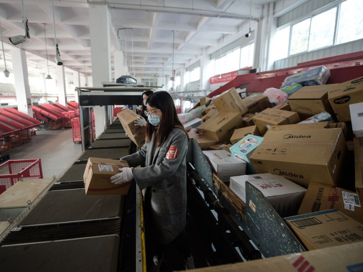 China's non-manufacturing PMI drops in January