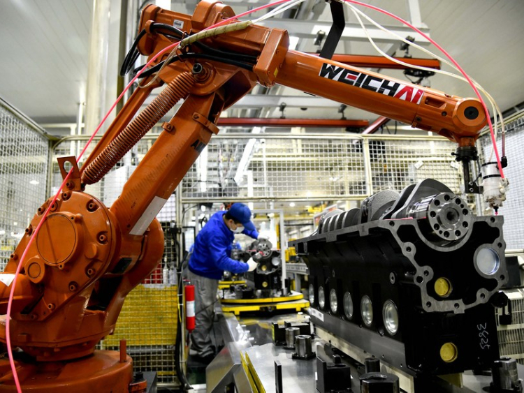 China's manufacturing activity slows in January
