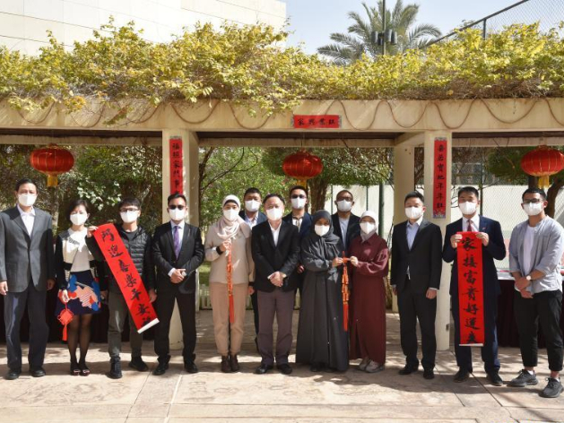 Chinese Embassy in Saudi Arabia distributes Spring Festival kits to Chinese students