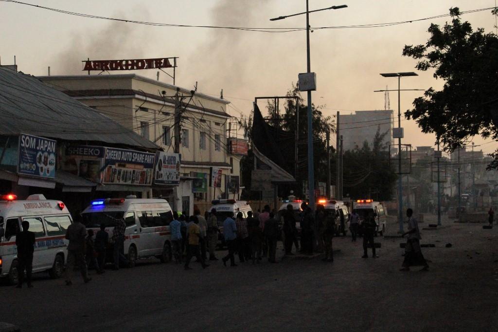 At least three dead in Shabaab attack on Mogadishu hotel