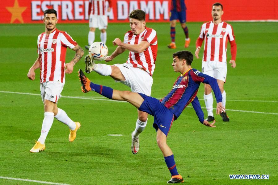 Stunning Messi free-kick helps Barca to win