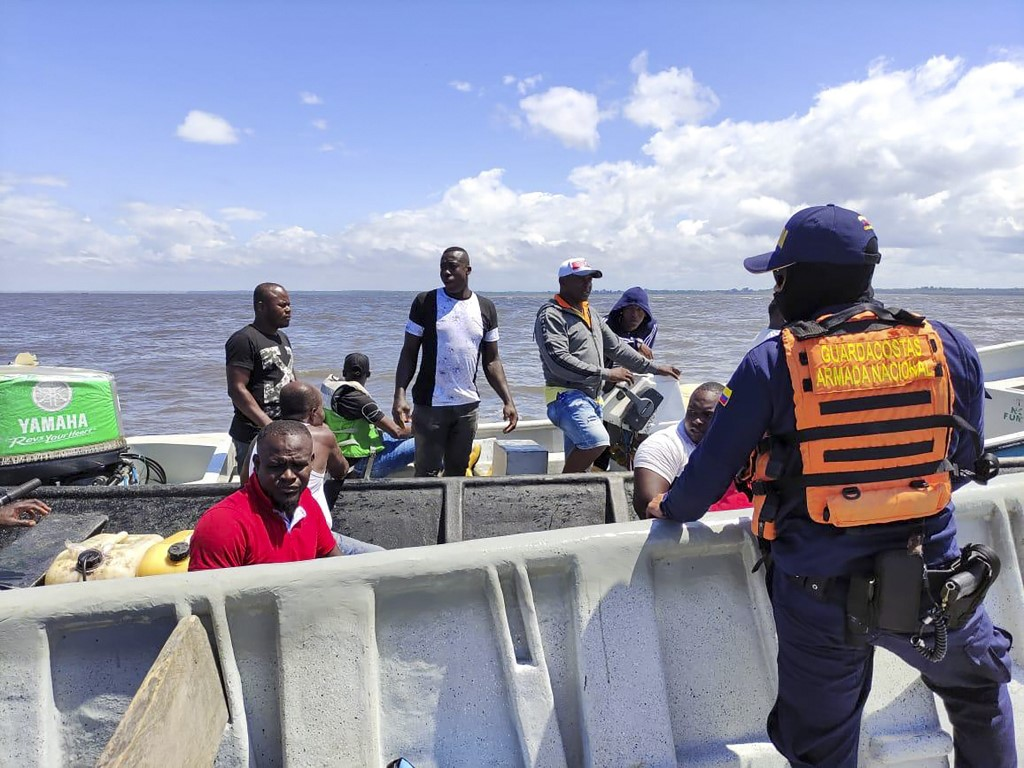 At least 9 dead after two boats capsize off Pacific coast of Colombia