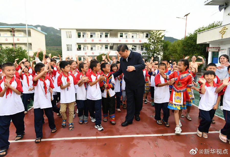 Xi's stories: Improving the well-being and social security of rural teachers