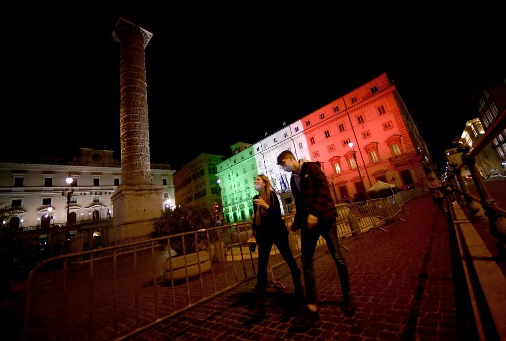 Italy's GDP shrank 8.9% in 2020: stats agency