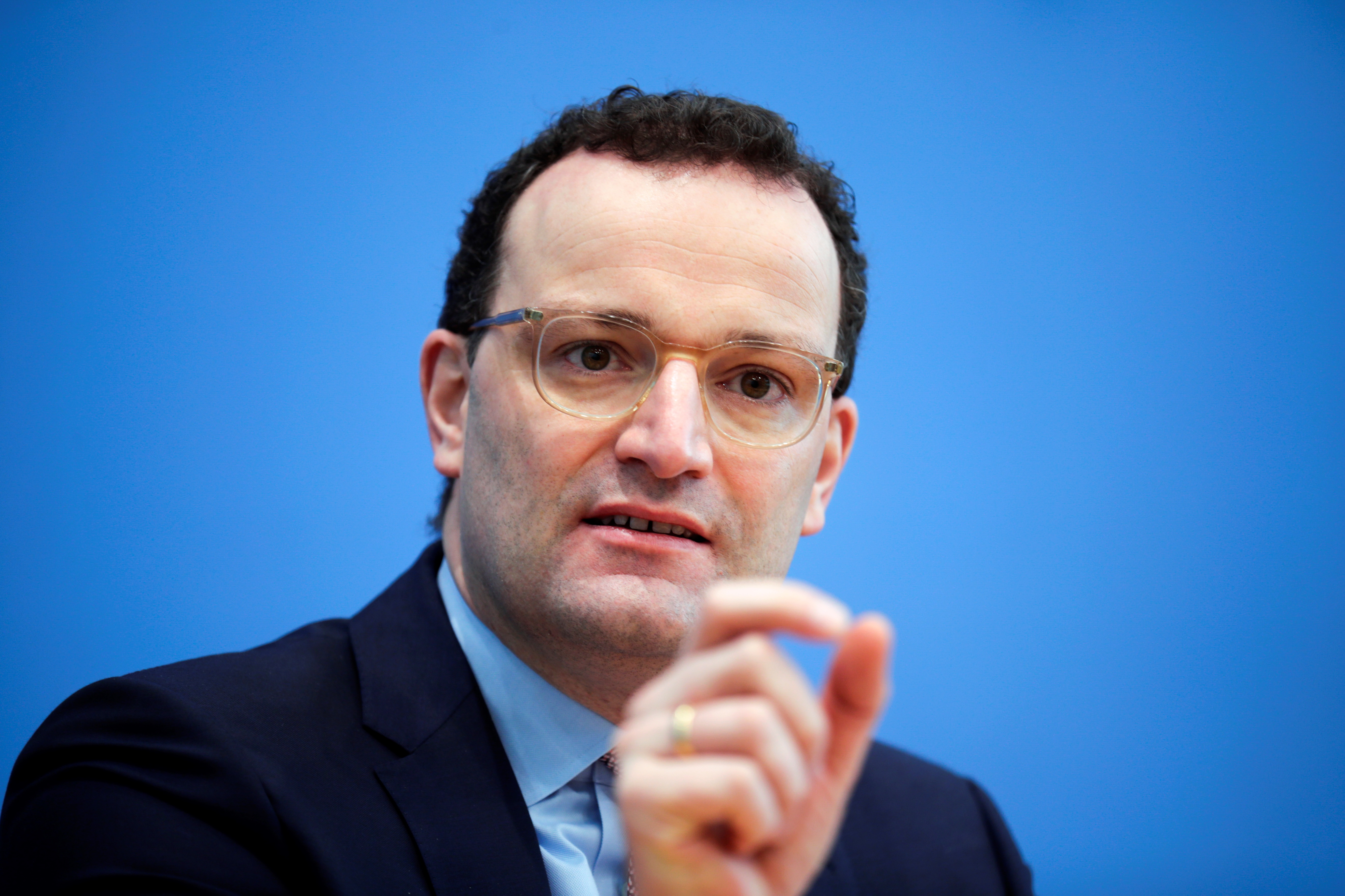 German health minister hints at easing of virus curbs