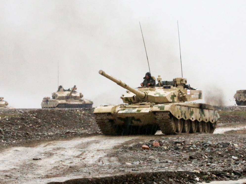 China's Type 99A main battle tank deployed in high-altitude border defense frontier: reports