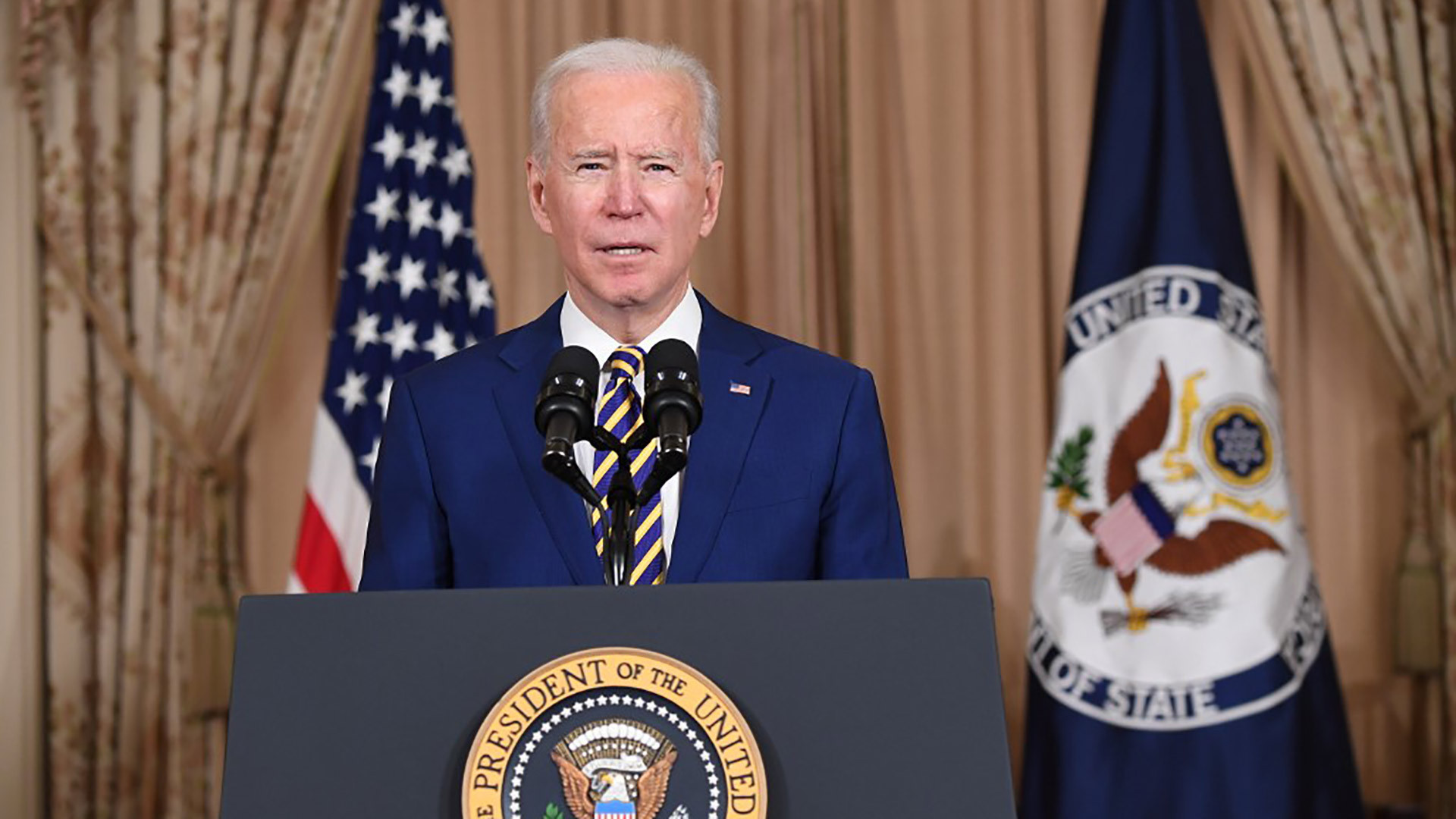 Biden says US willing to work with China 'in America's interest'