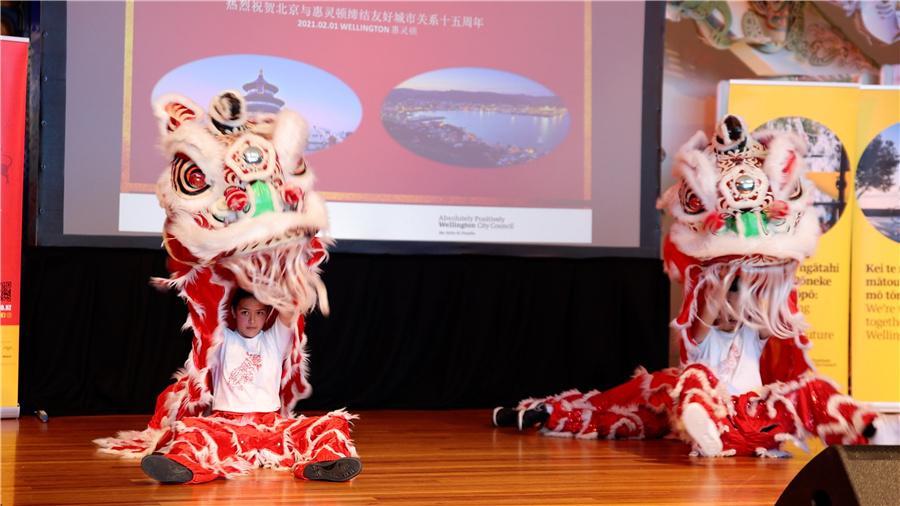 Wellington begins Chinese New Year festivity