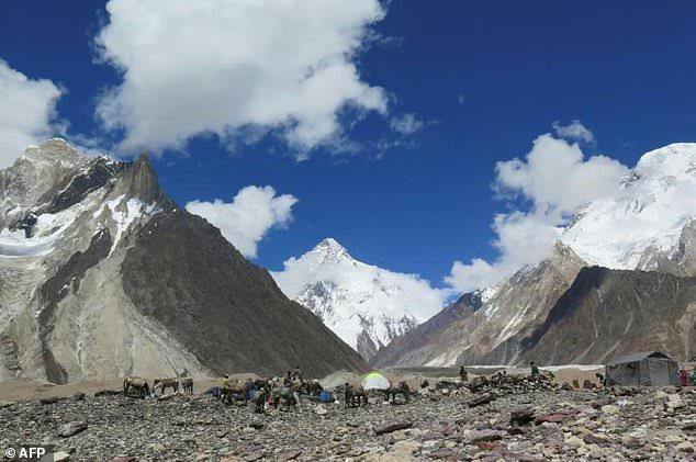Three climbers missing on Pakistan's K2 mountain