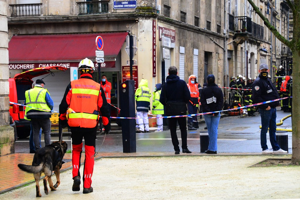 Two missing, one seriously hurt in Bordeaux garage explosion