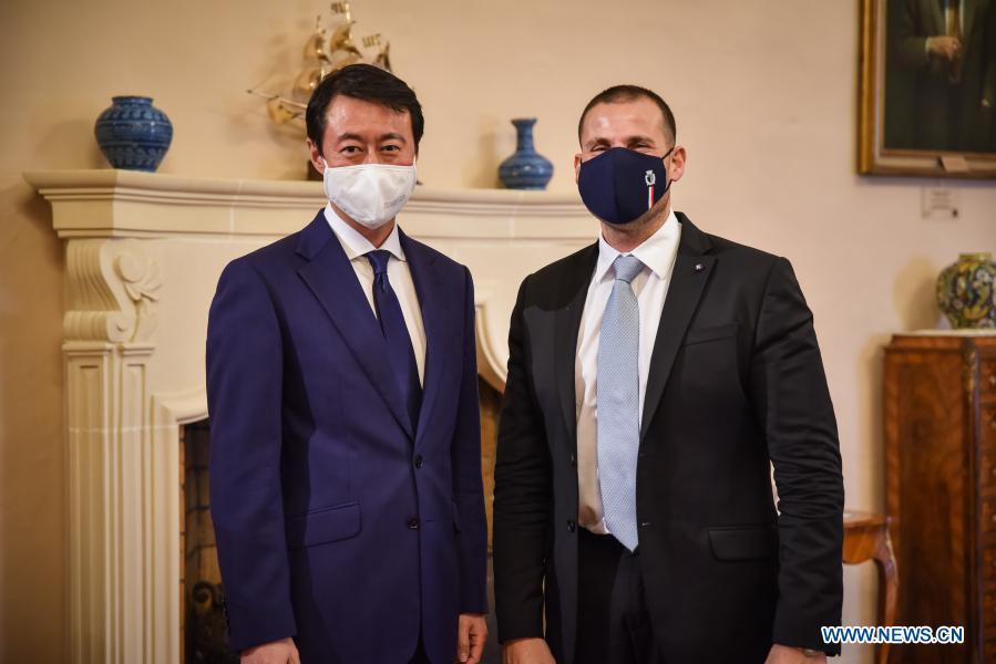 Maltese PM looks forward to strengthening cooperation with China after pandemic