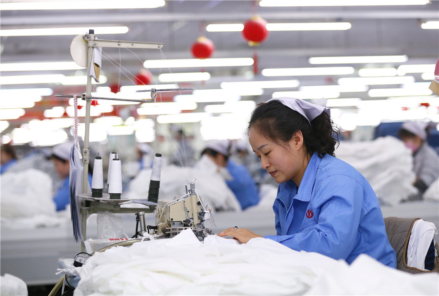 China's garment industry reports shrinking profits in 2020