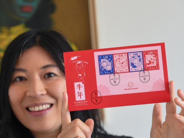 Chinese zodiac stamps promote cultural exchanges between New Zealand, China