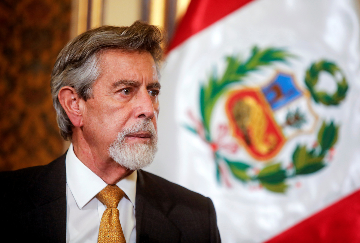 Peruvian president to receive China-developed COVID-19 vaccine