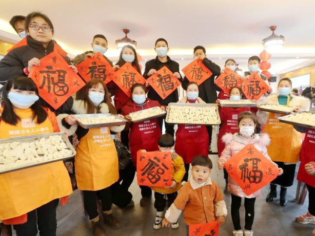 Migrant workers choosing to stay put attend activities in celebration of Spring Festival