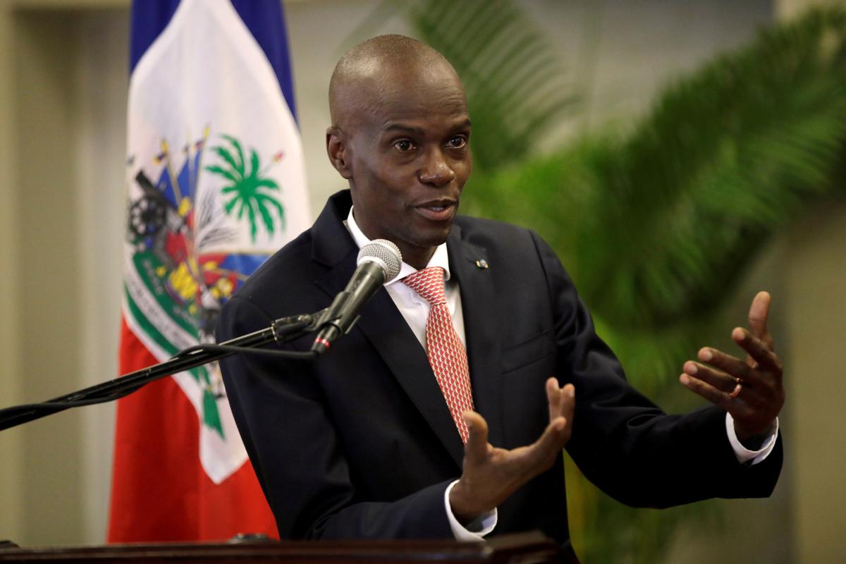 Haitian president denounces attempted coup