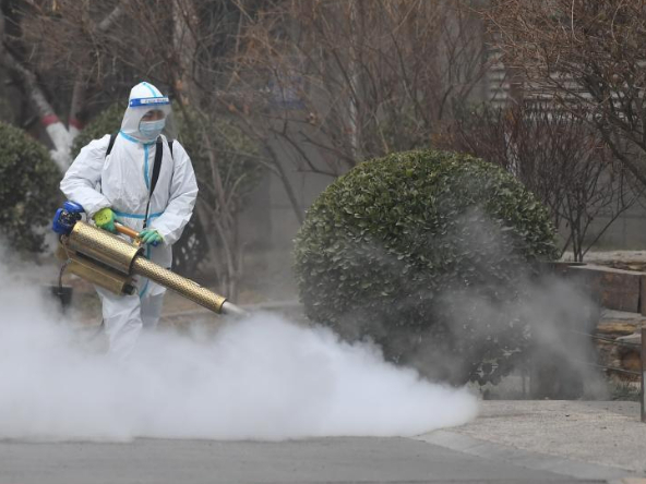 New disinfectants effective at low temperatures