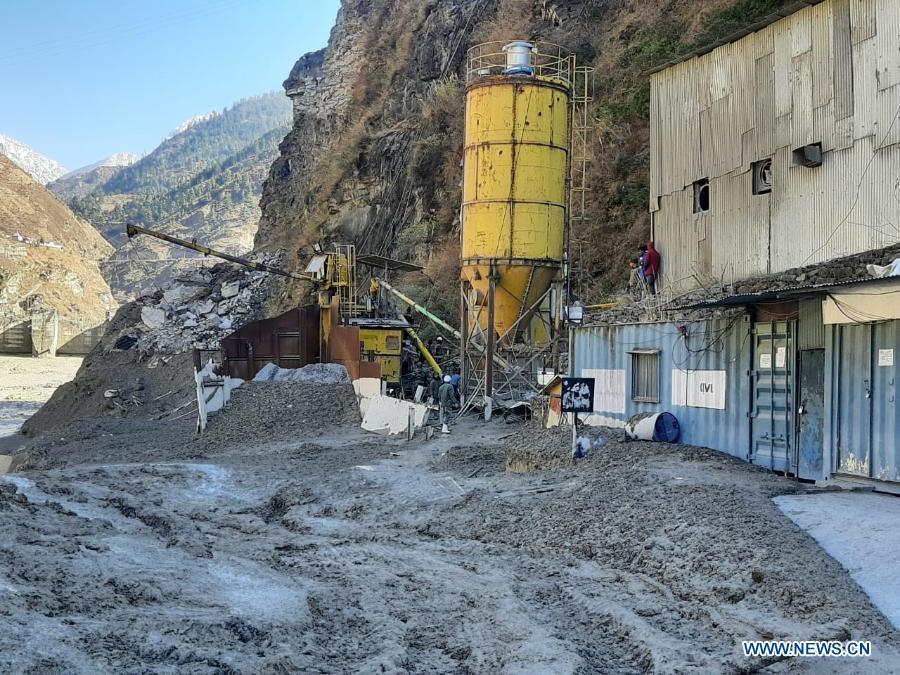 Night darkness to hamper rescue work at Glacier burst site in N. India