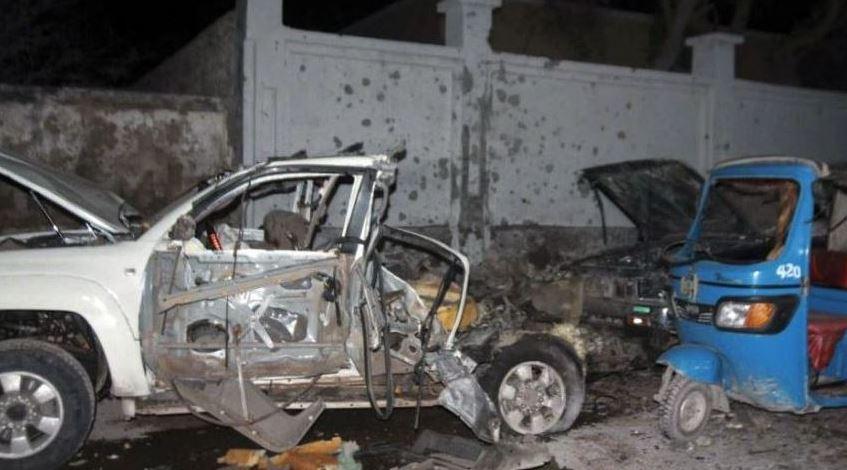 10 killed in central Somalia blast