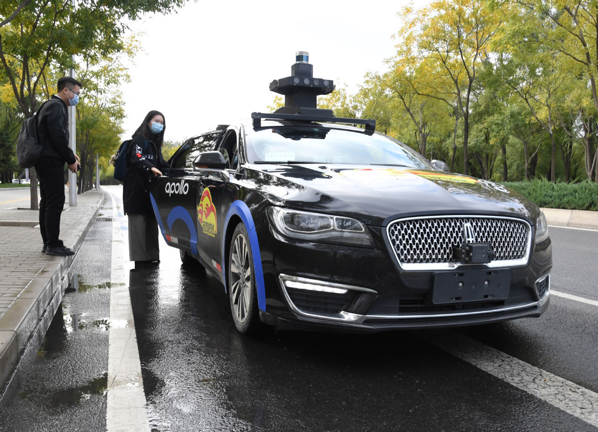Report lays out figures on Beijing's self-driving vehicle tests