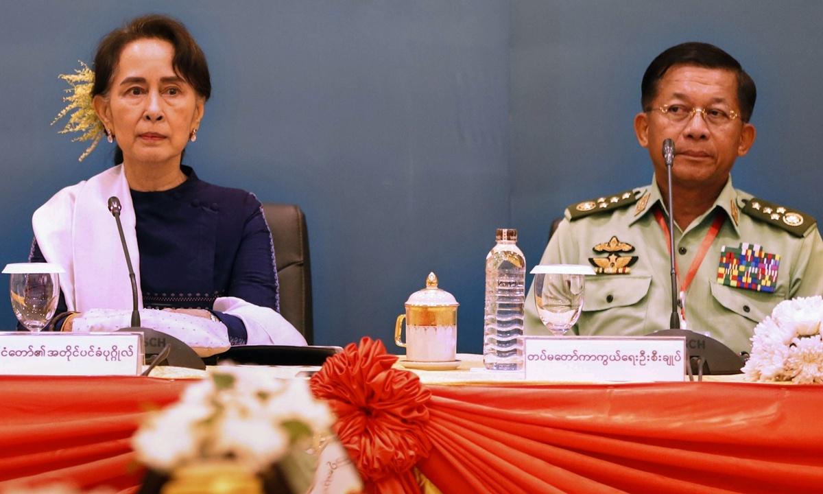Myanmar protesters defy junta