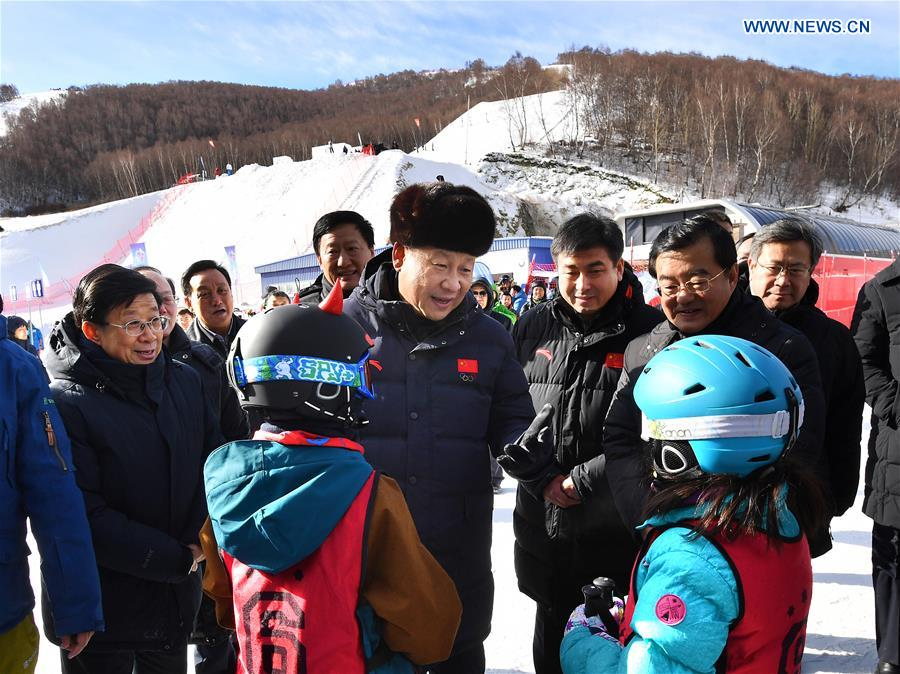 Xi's stories: Ice and snow sports flourish in China