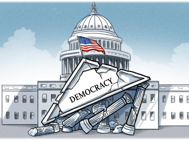 Current performance of the US inevitable result of deepening political decay