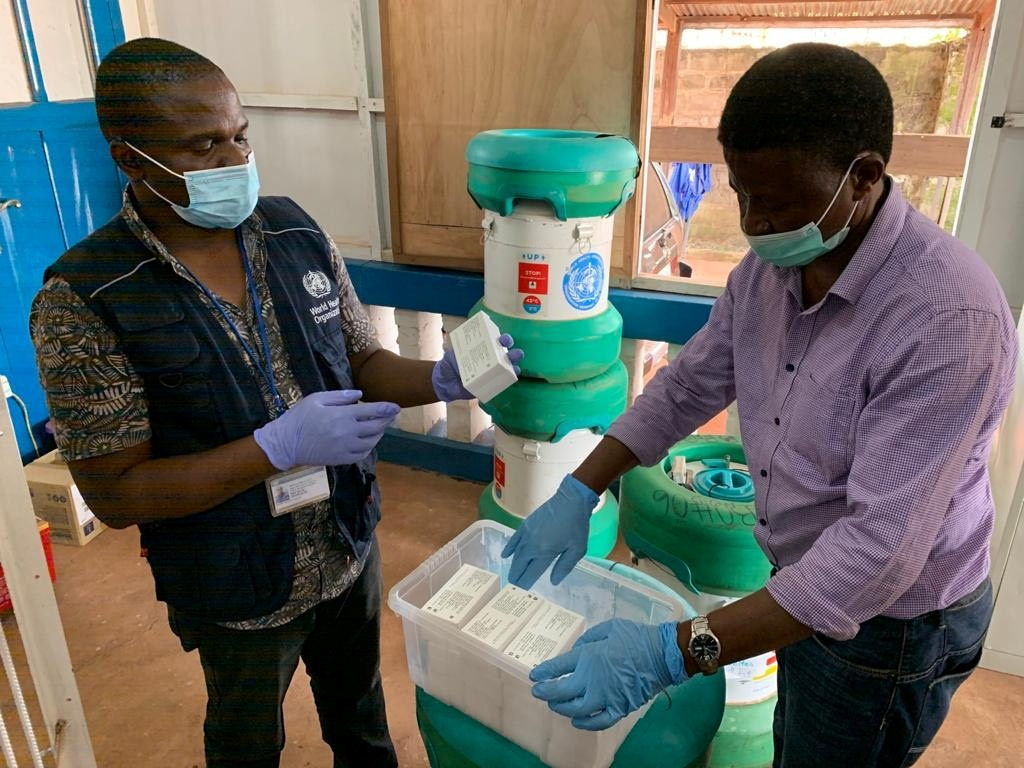 New case of Ebola virus reported in DR Congo