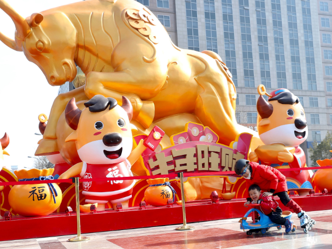 Spring Festival excitement grows as preparations underway