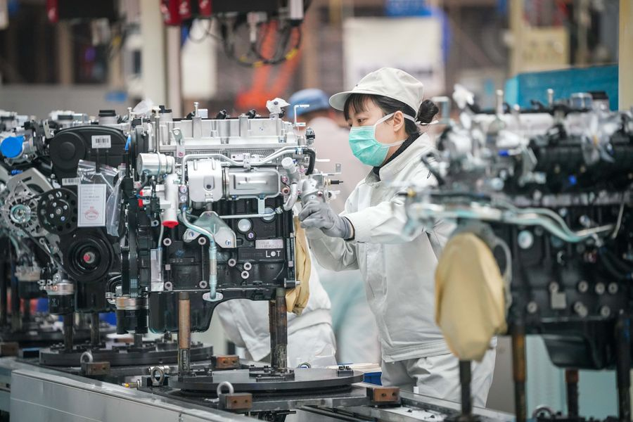 China's factory-gate prices rise in January as demand improves
