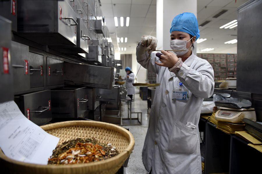 China to push forward TCM development