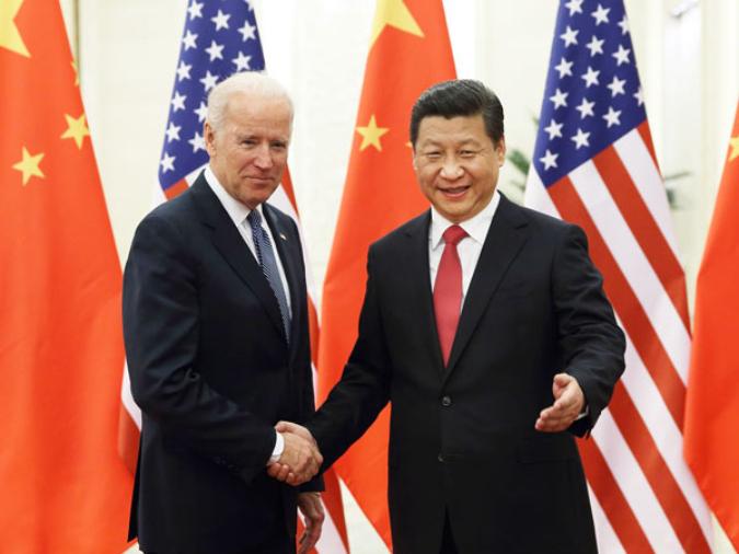 Xi speaks with Biden on phone