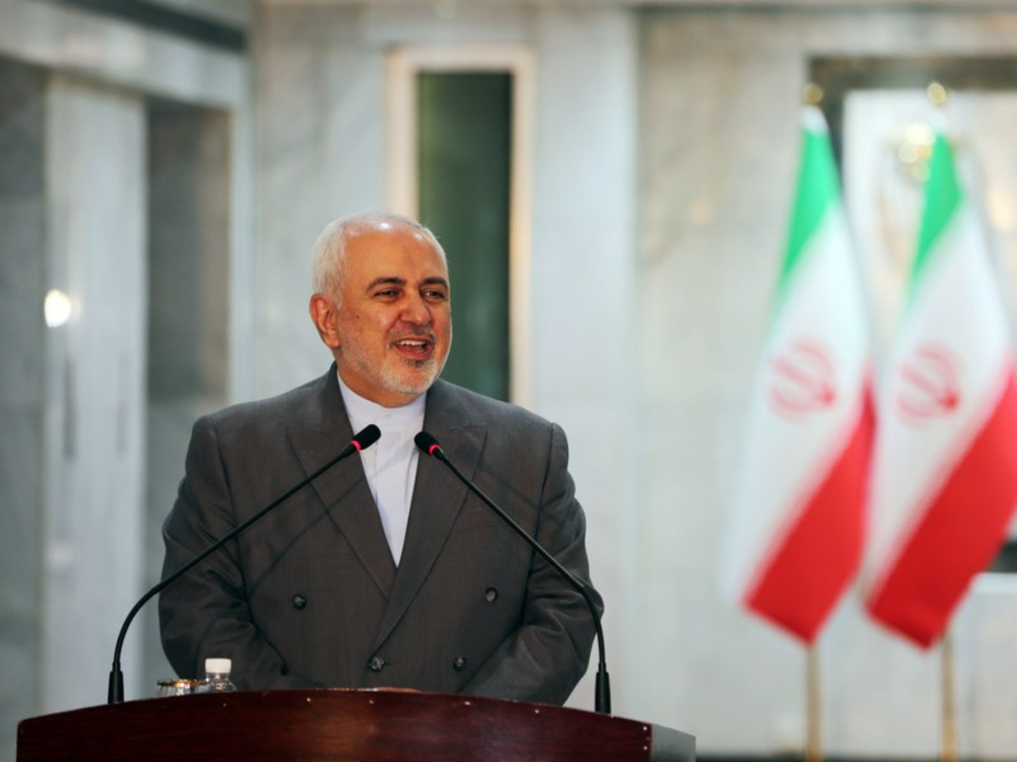 Iranian FM sends greetings for Chinese New Year