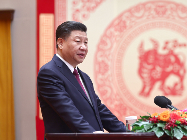 Key quotes from Xi's speech offering Spring Festival greetings to all Chinese