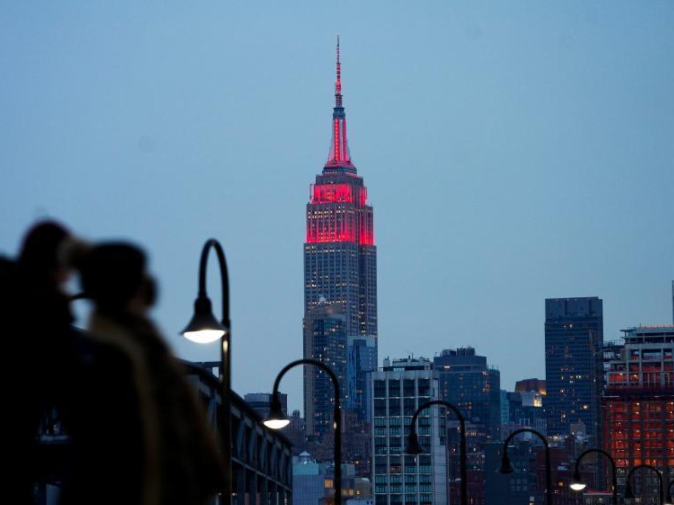 Multiple landmarks in New York City lit up to celebrate Chinese Lunar New Year