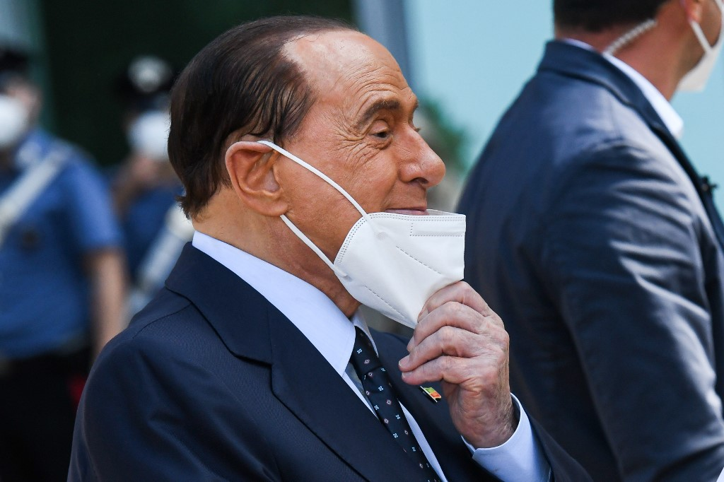 Italy's Berlusconi hospitalised overnight after a fall