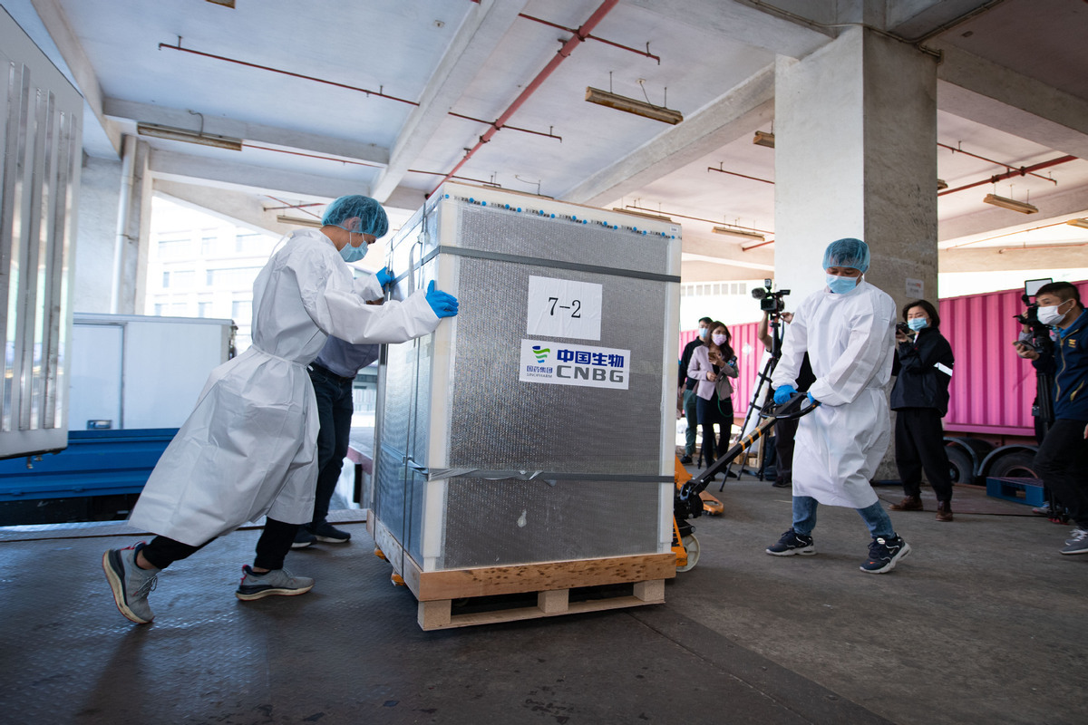 Mexico welcomes vaccine shipment from China's CanSino