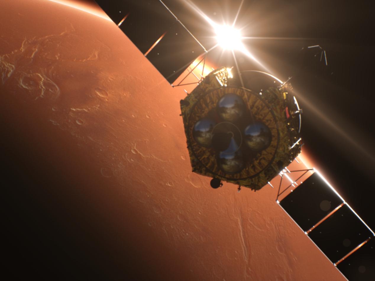 China's Tianwen-1 to perform orbital maneuvers ahead of Mars landing