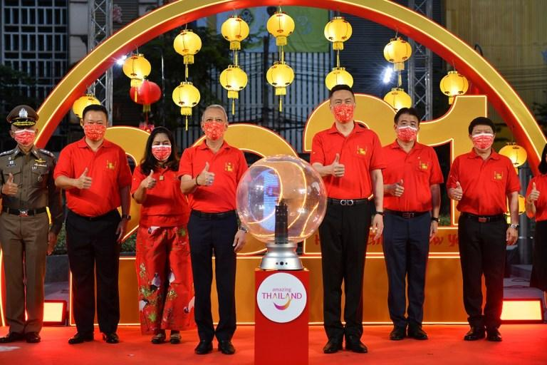Thailand celebrates Chinese New Year in new normal