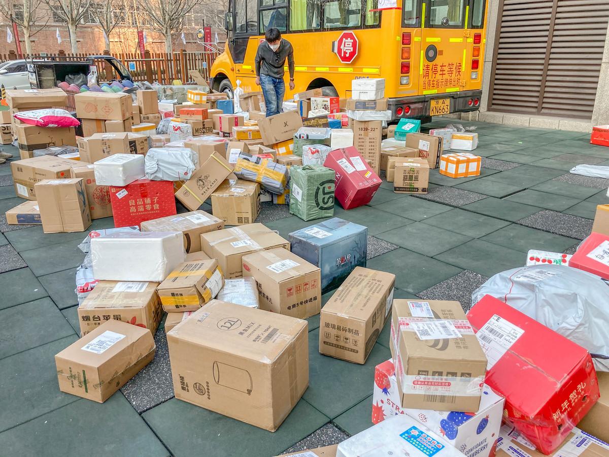 Spring Festival deliveries break record