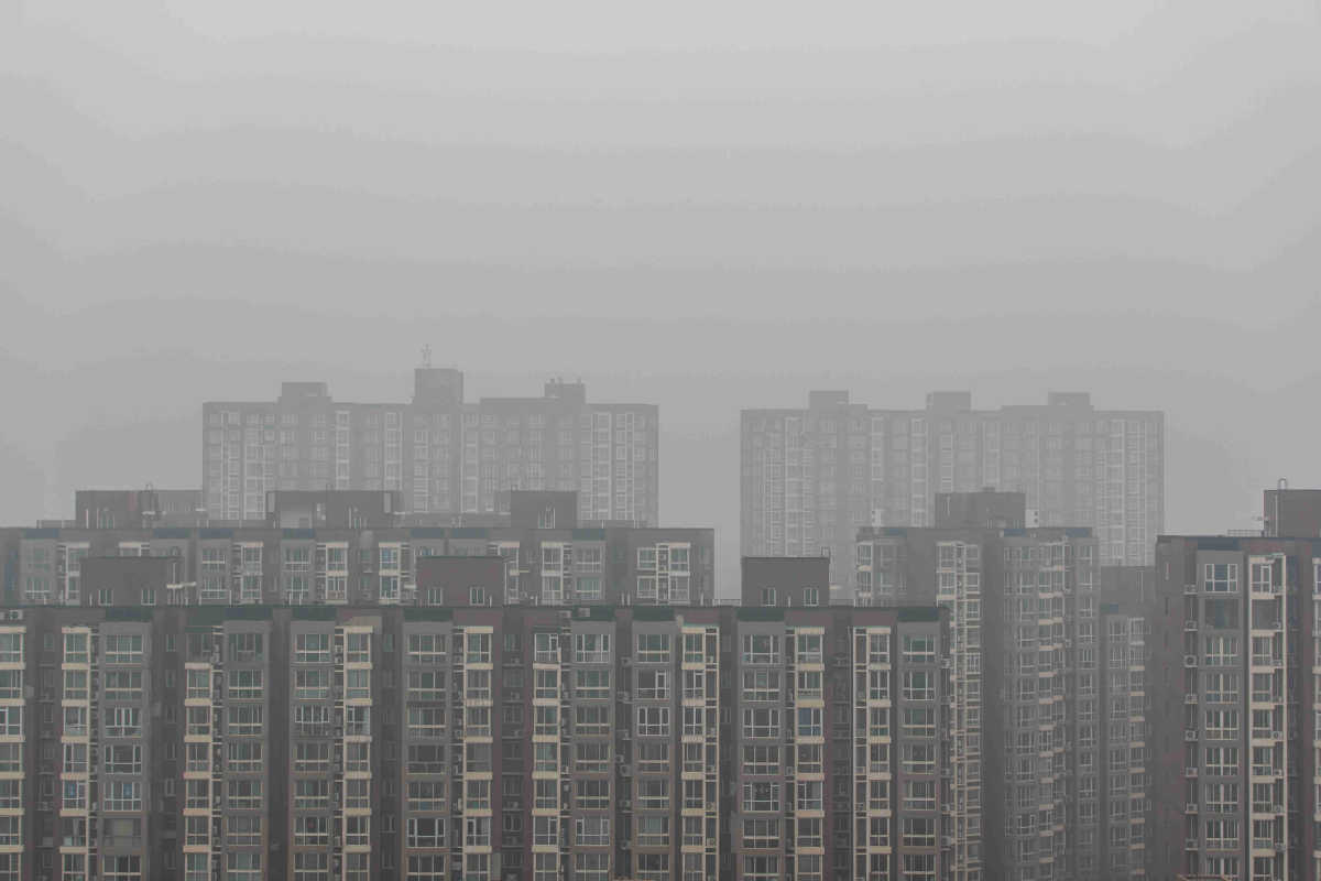 Beijing sees heavy air pollution