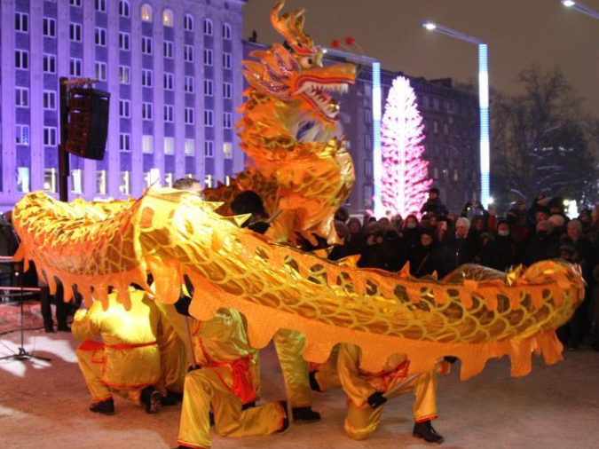 Chinese New Year celebrated in Estonian capital