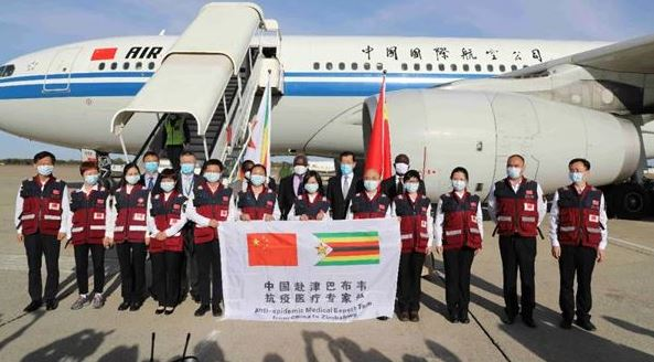 Zimbabwean president expresses gratitude to China for donating COVID-19 vaccine